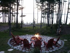 Lakeside Firepit