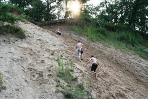 Sandhill Climb