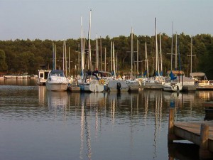 Barnum Bay Marina on Lake Petenwell